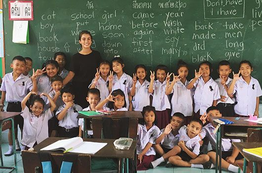 dating while teaching abroad